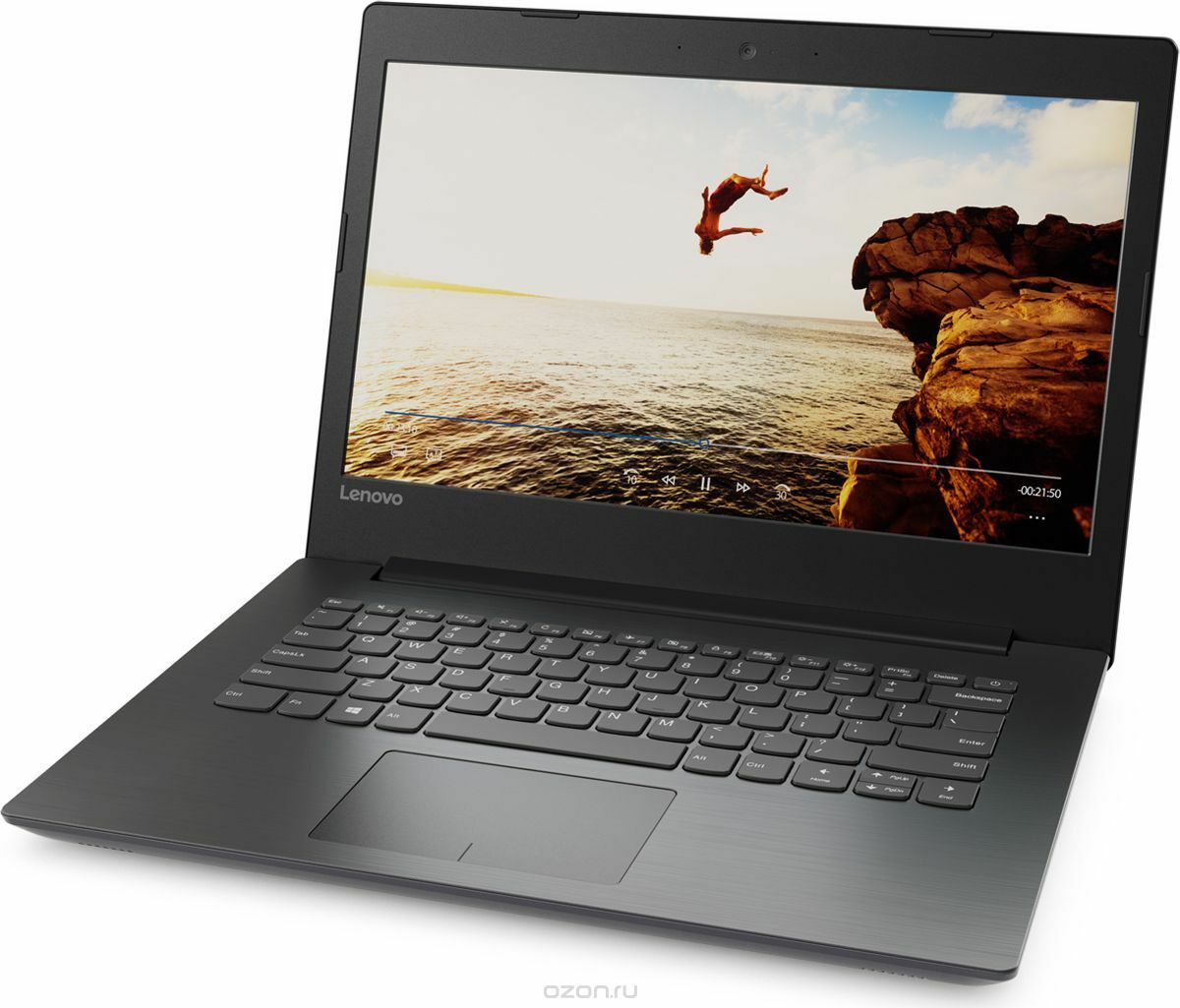 "Laptop Windows - Lenovo 320-14AST 14"" AMD A9-9420 3GHz 8GB 1TB HDD Laptop Windows 10 - Black"