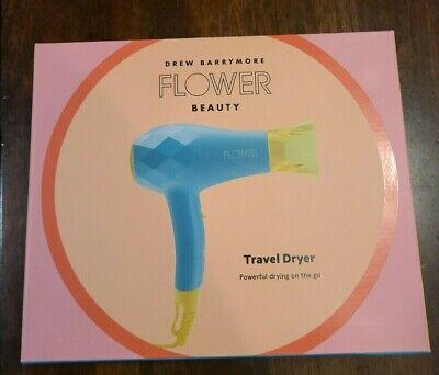 Ang mga Ionic Travel Hair Dryer, Blue na may Concentrator ay nakadisenyo ng maliit na dryer PINAKA-U