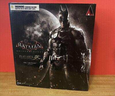 Square Enix Arkham Knight Play Arts Kai Batman Action Figure No. 1  Open Box