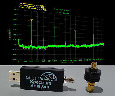Usb Rf Spectrum Analyzer 3.3ghz