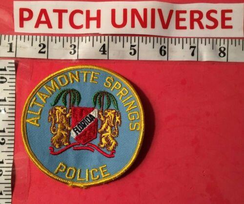 VINTAGE ALTAMONTE SPRINGS FLORIDA POLICE SHOULDER PATCH  A014