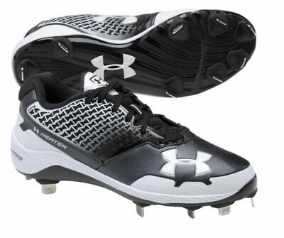 83b2478be13 MEN S UNDER ARMOUR UA HEATER LOW METAL BASEBALL Cleats 10 EUR 44 CM 28 UK 9