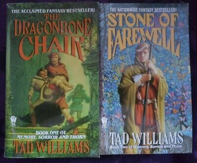 Tad Williams - Memory, Sorrow, and Thorn series 1 & 2 -Dragonbone Chair - Stone (Tad Williams Memory Sorrow And Thorn Series)