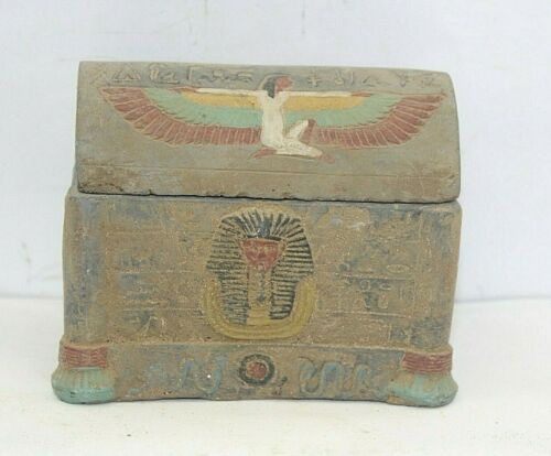 RARE ANCIENT EGYPTIAN ANTIQUE JEWELRY BOX 1659-1548 BC