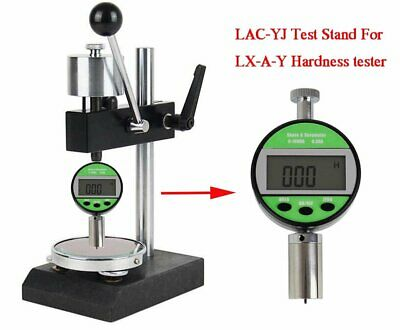 Digital Shore Hardness Tester With Test Stand Lac-yj For Shore Durometer A