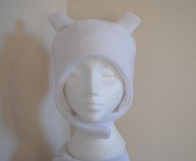 Adventure Time Finn the Human hat custom-made in fleece