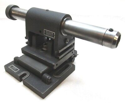 Weldon 1-14 Endmill Sharpening Airflow Fixture W Weldon Sub-base
