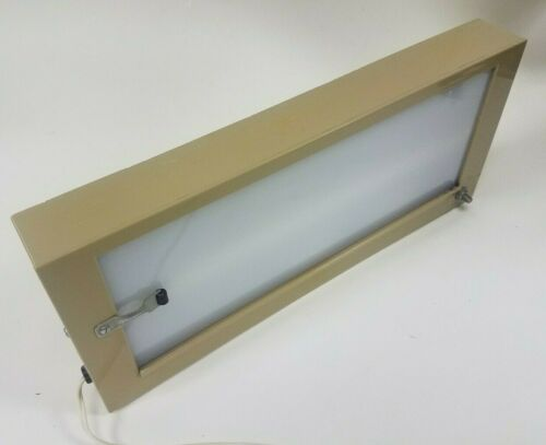 Beige Plastic X-Ray Light Viewer Wall Mount