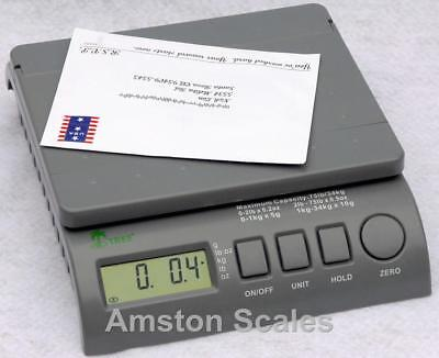 High Quality 75 Lb X 0.2 Oz Digital Scale Wac Postal Postage Shipping Ups Fedex