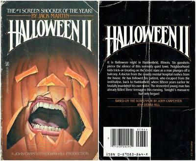 Halloween Jack Book (HALLOWEEN II 2 JACK MARTIN NOVEL BOOK PDF OF JOHN CARPENTER'S HALLOWEEN 2)
