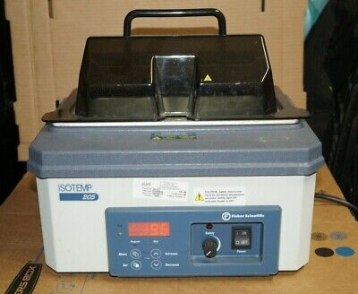 Fisher Isotemp 205 5l Series Heated Water Bath Digital Thermo Free Shipping