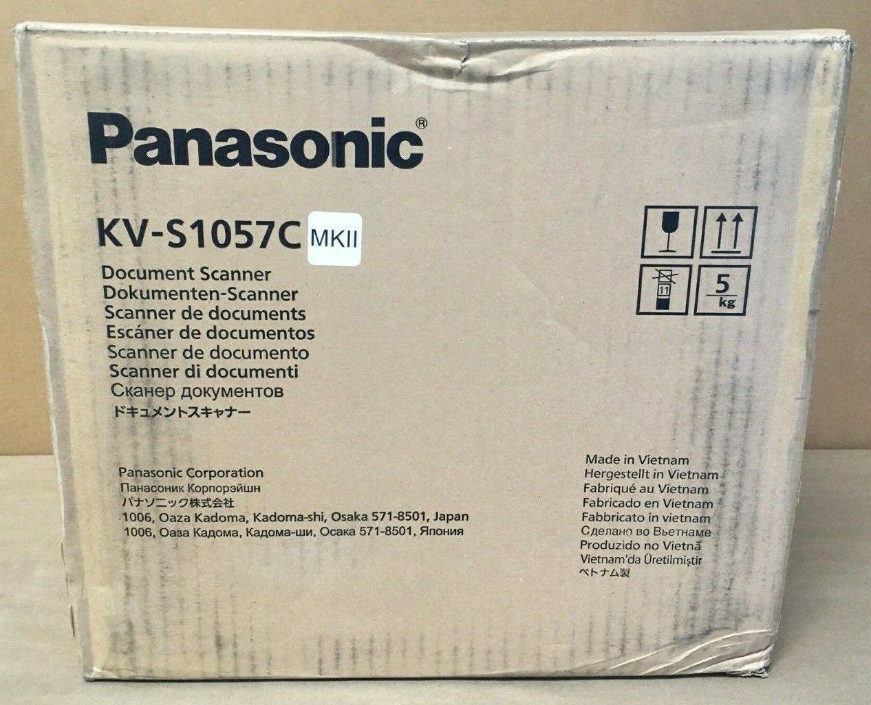 Panasonic Sheetfed Document Scanner 200/300 dpi Color KV-S10