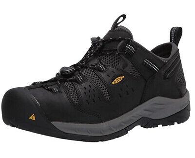 KEEN Utility Men's Atlanta Cool 2 Low Steel Toe Work Shoe Size 10 D