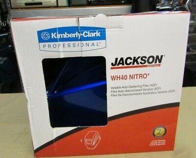 New Jackson Nitro Blue Auto Dark Weld Helmet -variable 301823021931