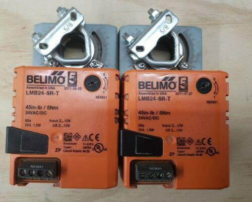 Lot of 2 BELIMO LMB24-SR-T Actuators