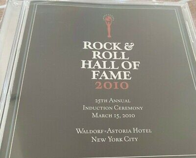 Rock and Roll Hall of Fame 2010 Induction Ceremony CD - ABBA, GENESIS, STOOGES