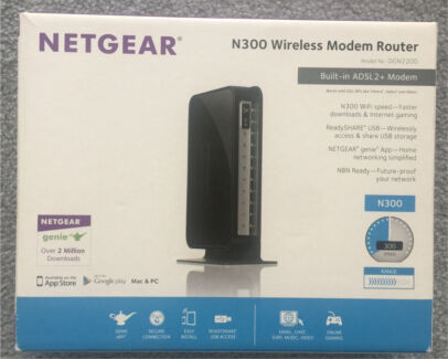 Netgear N300 wireless modem router Maroubra Eastern Suburbs Preview