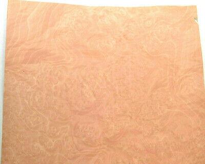 Pearwood Burl Raw Wood Veneer Sheets 9.5 X 39.5 Inches 142nd  Ifpa7368-47