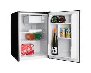 New Small Heller 70L Bar Fridge Black Refrigerator