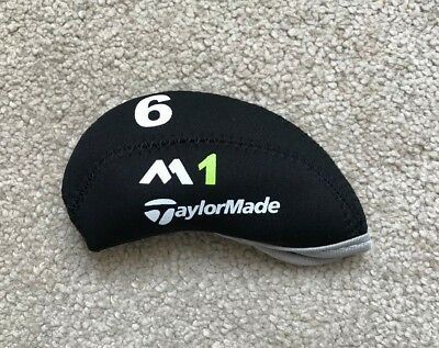 10PCS Black Neoprene Taylormade M1 Golf Club Iron Covers HeadCovers