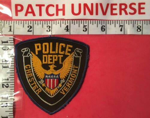 CHESTER  VERMONT  POLICE  SHOULDER PATCH  K084