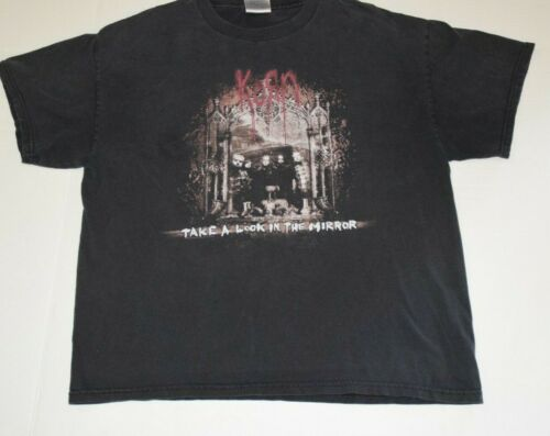 Korn Take A Look In The Mirror Tee Shirt T-Shirt Large L Tennessee River