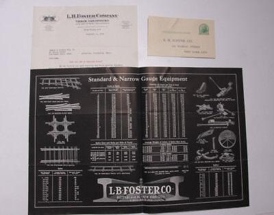 1926 Lamson Goodnow Brochure L B Foster Co Railroads Nyc Track Ephemera L493k