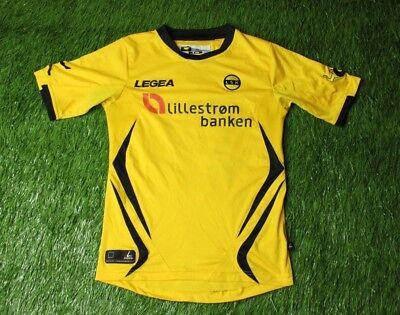 LILLESTROM NORWAY #15 2012/2013 FOOTBALL SHIRT JERSEY HOME LEGEA ORIGINAL SIZE S image