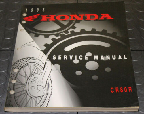 NOS OEM Honda Service Shop Manual NEW 95 CR80R CR 80 R