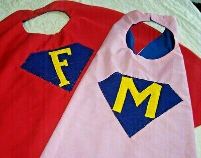 Superhero Child Boy Girl Cape New Custom Costume Super Unique Personalized Gift - Personalized Superhero Cape