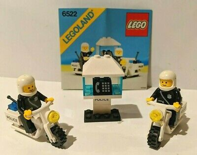 LEGO 6522 Town _ HIGHWAY PATROL Police Motorcycles - Complete w/ Instructions