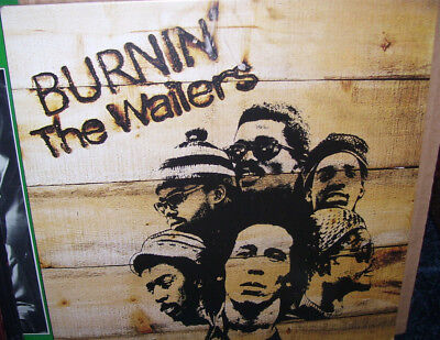 "Bob Marley & The Wailers Burnin LP ""Sealed"" 2015 for sale  Great Barrington"