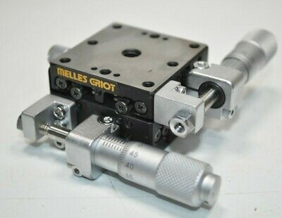 Melles Griot Low Profile Xy Axis Linear Translation Stagetable W Locks