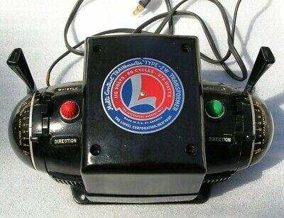 LIONEL ZW TRANSFORMER 275 WATTS ORIGINAL BOX / INSERTS INSTRUCTIONS & Cord