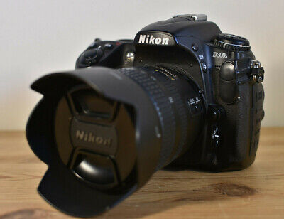 NIKON D300s DSLR CAMERA KIT WITH NIKKOR LENS BATTERY CHARGER STRAP & 16GB SD