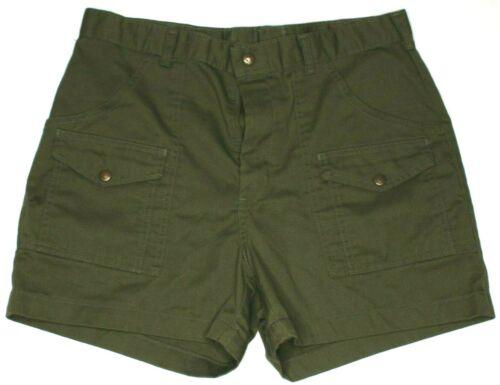 "Boy Scouts Olive Green Official Uniform Cargo Shorts 34"" Waist"