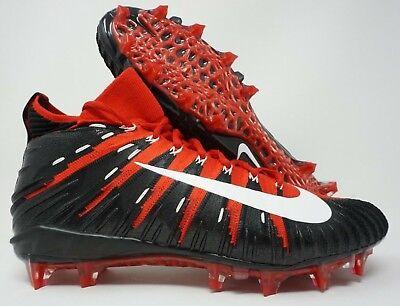 Nike Alpha Menace Elite TD P Mens Football Cleats Black Red Size 11.5