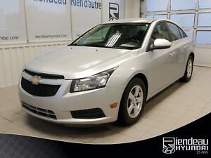 2012 Chevrolet Cruze LT Turbo + BLUETOOTH + CLIMATISEUR + MAGS