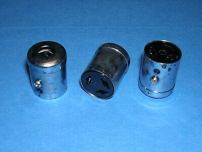 Amphenol 3 Pin Contact Female Cable Socket Connector Whood Lot Of 3