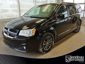 2017 Dodge Grand Caravan SXT/ PREMIUM PLUS + CUIR + BLUETOOTH