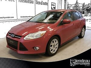 2012 Ford Focus SE, AIR CLIM, BLUETHOOT, RÉGULATEUR DE VITESSE