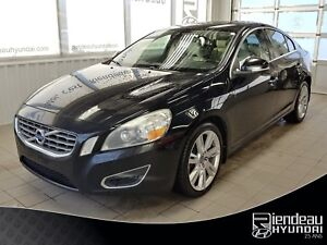 2012 Volvo S60 T6 + AWD + CUIR + TOIT OUVRANT +