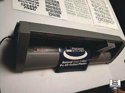 Roland Camm-1 Pc-50 Vinyl Cutter Plotter-mint Condition