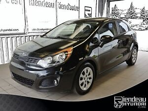 2012 Kia Rio LX+ SIEGE CHAUFFANTS + REGULATEUR  DE VITESSE