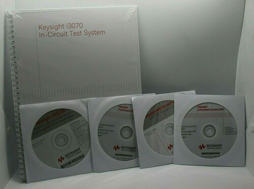 Keysight i3070 In-Circuit Test System Book with 4 DVDs/CDs