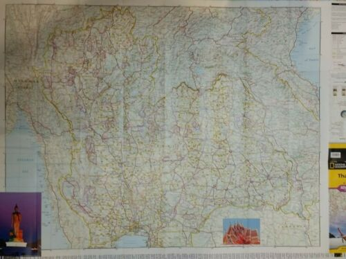 Thailand Laminated Wall Map (K)
