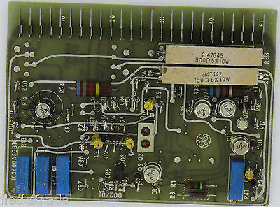 Ge Fanuc Ic3600afgb1 Plc Pc Board Function Generator