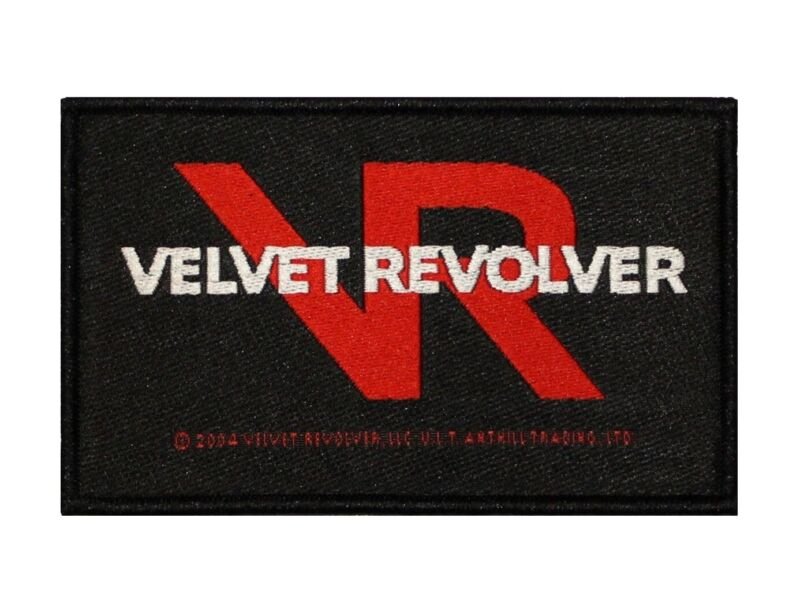 Velvet Revolver Logo Patch Hard Rock Band Music Jacket Woven Sew On Applique