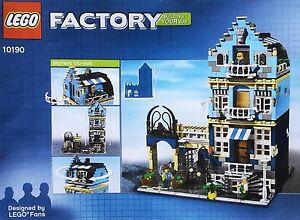 Lego Market Street 10190 NEU Modular Buildings 10182 10185 10224