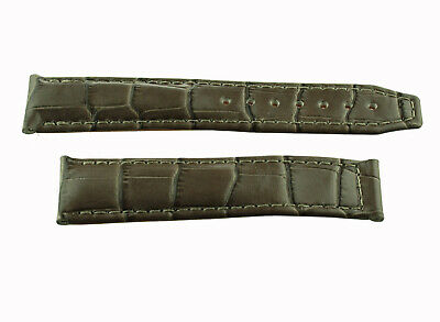Maurice Lacroix Uhren Kalb Lederband 20 mm noisettefarben  für Faltschliesse